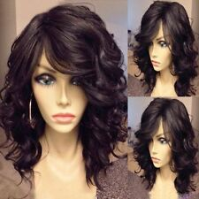 HE-J1031   New Sexy short brown cosplay hair lady wigs for modern women wig