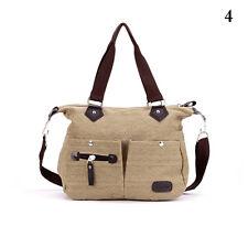 Women New Canvas Shoulder Bag Satchel Crossbody Tote Handbag Purse Messenger