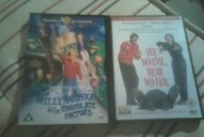 Willy Wonka And The Chocolate Factory and See no Evil, Hear no Evil DVDs