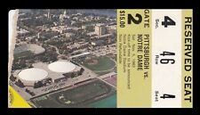 1983 Pitt Panthers v Notre Dame Football Ticket 11/5/83 27624