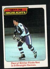 1977 - 1978 Topps Hockey Set PHIL ESPOSITO HIGHLIGHTS Card