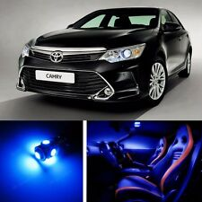 14pcs LED Blue Light Interior Package Kit for Toyota Camry 2012-2016