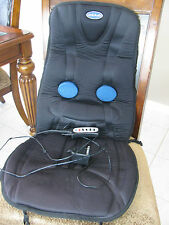 Dr. Scholls Soothing Full Massage Cushion Back Massager and Heat For Chair Seat
