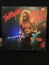 TED NUGENT STATE OF SHOCK LP EPIC 1979 FE 36000 WITH INNER