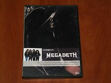 MEGADETH VIDEO HITS DVD 6-TRACK VIDEO CLIP COMPILATION CLASSIC ANTHEMS New