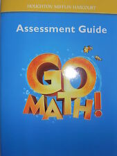 Go Math Assessment Guide Level K Kindergarten by Math (2010, Paperback) Teacher