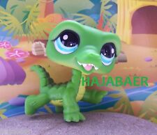 ☆♥ Littlest Pet Shop ♥☆ KROKODIL ALLIGATOR grün #987 ♥☆SPECIAL EDITION ♥☆