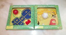 MADELINE'S OLD HOUSE IN PARIS DOLL HOUSE FURNITURE LOT OF TWO (2) NEW IN BOX