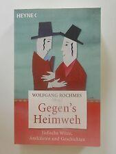 Wolfgang Rochmes Gegen's Heimweh Jüdische Witze Anekdoten Geschichten Heyne Buch