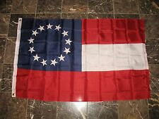 3x5 Stars and Bars First National 13 Southern States CSA Civil War flag 3'x5'