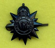 WW2 Canada Victoria Rifles VRC Collar Badge