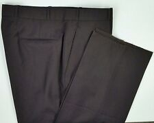 Villa Di Roma Mens Dress Pants NWT Size 38 Unfinished Hem Brown Policarpo Italy