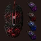 Gaming Maus Mouse 2400 dpi Optisch Kabel LED USB 5 Taste Gamer Maus f. PC Laptop