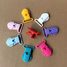 Practical 10pcs Baby Plastic Pacifier Clips Soother Dummy Clips Pacifier Holder