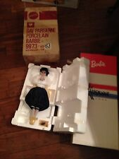 Barbie Gay Parisienne Porcelain Doll #9973, 1991 w/shipper, NIB