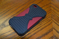 Rawling's Triple-Play Hard Case For iPhone 4/4S Red Mint 2E