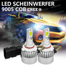 Pair Cree HB3 9005 72W 9000LM LED LAMPADE FARI HEADLIGHT BULB KIT LUCI BIANCA