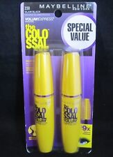 2 Pack Maybelline New York The Colossal Volum' Express Mascara, Glam Black 230