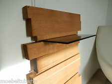 Design Wandboard Eiche Massiv Holz Board Regal Glasregal Regalbrett NEU !!!