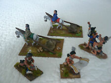 28MM BRITANNIA MINIATURES OLD WEST SCENES OF THE PLAINS INDIANS PAINTED