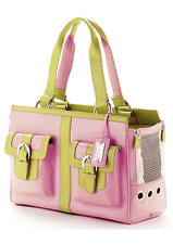 cece kent rodeo drive dog carrier in rose-New
