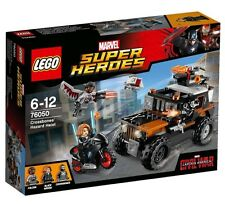 "LEGO 76050 CAPTAIN AMERICA CIVIL WAR "" CROSSBONES HAZARD HEIST "" - Hot ITEM"