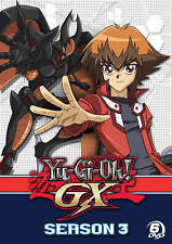 YU-GI-OH GX SEASON 3 New Sealed 6 DVD Set
