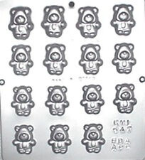 Small Teddy Bears Chocolate Candy Mold Baby Shower  647 NEW