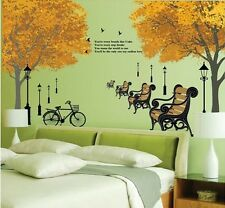 Autumn scenery Home Decor Removable Wall Sticker/Decal/Decoration