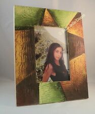 DISCOUNT 30% Photo holder table x foto 10x15 frame wood color abstract