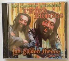Peter Broggs 'Jah Golden Throne' CD Jah Warrior Reggae Brand New Sealed - Rare!