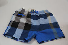 BURBERRY NOVA CHECK TODDLER BOY SWIM SHORTS BATHING TRUNKS  SZ 9 MONTHS
