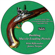 Building Muzzleloading Pistols with James Turpin (DVD) / muzzleloaders