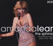 AMANDA LEAR - BEST OF 3 CD NEW+