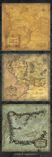 Lord of the Rings Maps of Middle Earth Door Poster - BRAND NEW SEALED