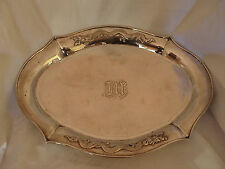 DRINKS TRAY CHINESE STERLING SILVER ZEE SUNG SHANGHAI CIRCA 1920