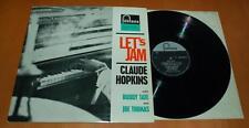 Claude Hopkins Buddy Tate - Let's Jam - 1961 UK Fontana LP 688 405 ZL