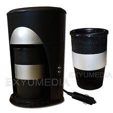12V PAD Reise Kaffeemaschine 2 Becher Auto Kaffee Automat 12 Volt Fernfahrer
