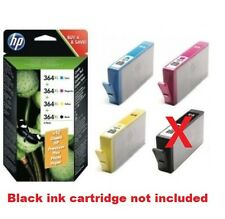 3 ORIGINALI HP 364 XL INCHIOSTRO CARTUCCE PER DeskJet 3520 3070A Officejet 4620 4622w