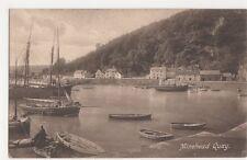 Somerset, Minehead Quay Postcard #2, B160