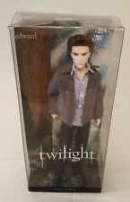 Barbie Doll Edward The Twilight Saga Eclipse Pink Lable Collector New In Box