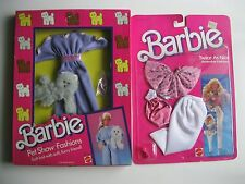 Barbie Twice as Nice Fashion & Barbie Pet Show Fashions NRFB