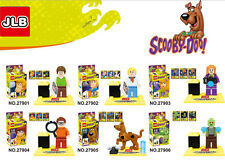 6sets Scooby Doo Mini Figures Minifigs Building Blocks Toy Kids Gifts