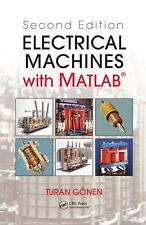 Electrical Machines with Matlab by Turan Gonen 2nd edition, Hardcover