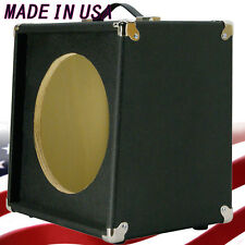 1x12 Guitar Speaker Extension Empty Cabinet Bronco blk Texture Tolex