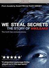 We Steal Secrets: The Story of WikiLeaks (DVD, 2013, Canadian) **BRAND NEW**
