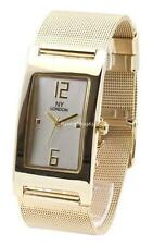 Fashion NY Women's Gold Watch Mesh Steel Band Bracelet Analogue Luxury Dress New