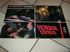 FOTOBUSTA HORROR EXPRESS  C.LEE- PETER CUSHING-T.SAVALAS