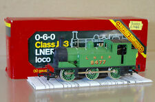 HORNBY R252 LNER GREEN 0-6-0 CLASS J83 TANK LOCO 8477 MINT BOXED nf