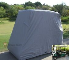 Golf cart 4 passenger storage cover for EZGO, Club car and Yamaha in Grey
